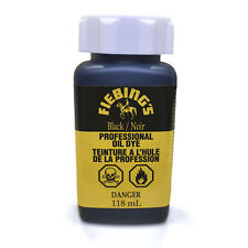 Fiebings Professional Oil Leather Dye 4oz with Applicator 15 Colors Pro