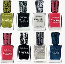 Sally Hansen Crackle Overcoat Nail Polish CHOOSE YOUR COLOR B2G 20% OFF