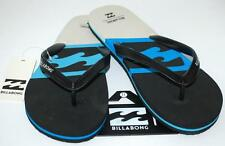 BILLABONG NEW MENS UNISEX Flip Flops Thongs Sandals COVE Cyan  Rubber Surf Skate