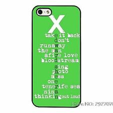 d Sheeran Multiply X Song Lyrics Phone Case Cover For iPhone / Samsung