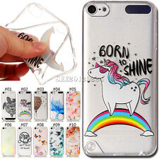 Various Back Fashion Soft TPU Skin Cover Silicone Case For Apple iPod Touch 5 /6