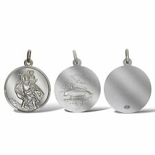 STERLING SILVER ST CHRISTOPHER PENDANTS CHARM CHOICE TRAVEL OR FREE ENGRAVING