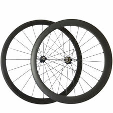 700C 38mm+50mm 23mm Width Clincher Bicycle Wheelset Road Bike Carbon Wheels