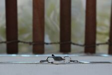 1.5mm Width Various Lengths 925 Italian Silver Snake Chain Flat Lobster Clasp