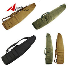 "1X Tactical 100CM/38"" Airsoft Hunting Padded Rifle Gun Carry Case Shoulder Bag"
