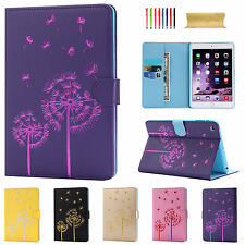 Dandelion Smart Slim Magnetic Leather Stand Case Cover For Apple iPad Sleep/Wake