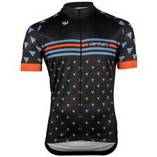 Vermarc Triangolo Mens Short Sleeved Cycle Cycling Road Bike Jersey