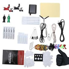 Professional Solong Tattoo Kits 2 Rotary Machine Guns Power Supply for Beginner