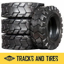 12-16.5 (12x16.5) Camso SKS 775 12-Ply Skid Steer Tires: Pick Your Rim Color