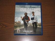 Due Date (Blu-ray/DVD, 2011, 2-Disc Set)