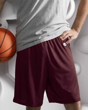 "Champion Mens Poly Mesh 9"" Inseam Gym Shorts 8731 S-3XL Athletic Basketball"