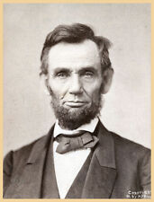 Choose Paper or Canvas POSTER.Abraham Lincoln.School Decorator art print.q446