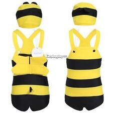 Arshiner Kids Wear Bee Style Suits One Piece Beach Elastic Swimsuit ES9P