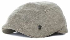 No Bad Ideas NBI Ricardo Mod Flat Cap Driver Hat Light Brown