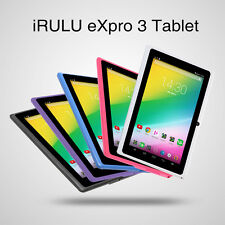 "iRULU eXpro 3 7"" Tablet PC Google Android 6.0 Quad Core Dual Camera 8GB Pad GMS"