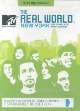 MTV'S THE REAL WORLD - NEW YORK: THE COMPLETE FIRST SEASON NEW DVD