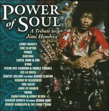 VARIOUS ARTISTS - POWER OF SOUL: A TRIBUTE TO JIMI HENDRIX NEW CD