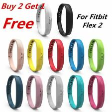 (BUY 2 GET 1 FREE ) Soft Sport Silicone Watchband Wrist Strap For Fitbit Flex 2