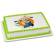 Minions Despicable Me Party Edible Cake OR Cupcake Toppers Decoration