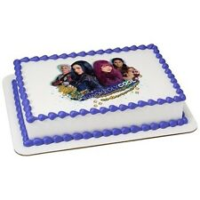 Disney Descendants Wickedly Cool Edible Cake OR Cupcake Toppers Decoration