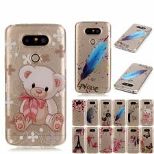 LG G5 Case Cover Soft Silicone TPU LG G5 Case Gel Transparent Skin Bag Cover For