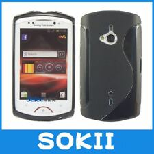 For Sony Ericsson Live With Walkman WT19i Wave S Line Gel Skin Case Cover,Soft T