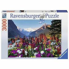 Ravensburger Flowery Mountains Puzzle - 3000-Piece