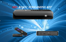 Certified Roku HD Media Streamer Player Netflix Channels Plus Remote Control HDM