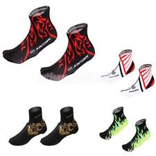 Bicycle Breathable Shoe Covers Bike Cycling Zippered Overshoes Windproof