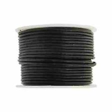 1.5mm Round Leather Cord - 25 meters - 3 Colors