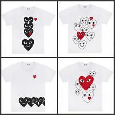 Men's Comme Des Garcons CDG Play Classic Heart Short Women's T-shirts 4 Style