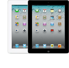 Apple iPad 2nd GEN  64GB WiFi + 4G GSM Unlocked AT&T T-Mobile White Black