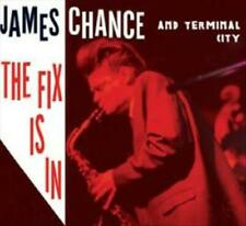 JAMES CHANCE/TERMINAL CITY - THE FIX IS IN [DIGIPAK] NEW CD