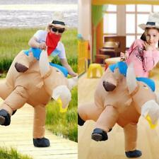Anself Cattle Design Inflatable Costume Lovely Funny Dress Celebration Club F8Y8