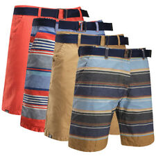 Mens Fashion Flat Stripe Double Sides Casual Shorts Short Pants Cropped Trousers