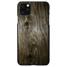 Hard Case Cover for iPhone 5 5S SE 6 6S 7 PLUS Brown Weathered Wood Grain