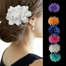 Beautiful Flower Hair Pin Clip Pin Hairband Bridal Wedding Party For Women