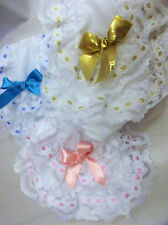 DREAM GIRLS BABY DITTO LACE FRILLY KNICKERS PANTS  0-24 MONTHS OR  REBORN DOLLS