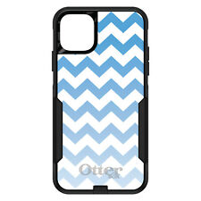 OtterBox Commuter for iPhone 5 SE 6 S 7 8 PLUS X White Blue Fade Chevron Stripe