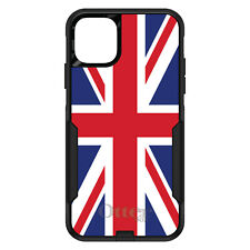 OtterBox Commuter for iPhone 5 SE 6 S 7 8 PLUS X Red White Blue British Flag UK