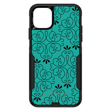 OtterBox Commuter for iPhone 5 SE 6 S 7 8 PLUS X Coral Blue Black Floral