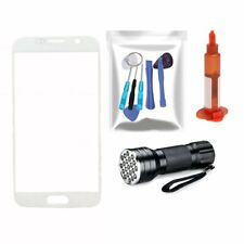 White Front Glass Screen Replacement Lens for Samsung Galaxy S7 G930 Repair Kit