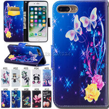 PU Leather Luxury Card Cover Wallet Stand Case Flip Skin For Apple iPhone 7 Plus