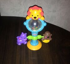 Fisher Price High Chair Pacifier TOY - LION w/ Suction Cup