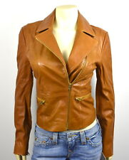 True Religion $499 Women's Lamb Leather Moto Jacket/Coat - WSRBB713D