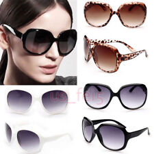 Hot Retro Big Style Womens Vintage Shades Oversized Designer Sunglasses Eyewear
