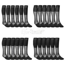 3 Pairs Summer Mens Dress Socks Striped Over-the-Calf Casual Sport Formal Thin