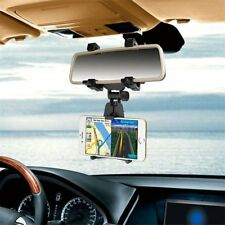 Car Rearview Mirror Mount Stand Holder Cradle For PDA Phones GPS 3.5-6.0 inch