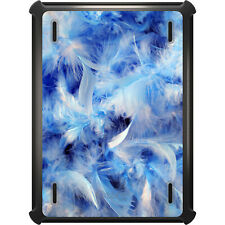 OtterBox Defender for iPad Air Mini 1 2 3 4 Blue Feathers