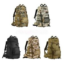 60L Tactical Army Military Backpack Bag for Camping Traveling Hiking Clamb
